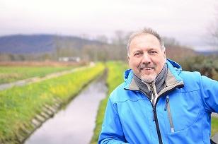 Harald Plößer am liebsten draußen - Foto: Benjamin Gürkan