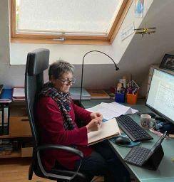Ausschusssitzung virtuell am 31. März, ein bisschen anstrengender, aber machbar